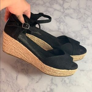 Toms wedge heels